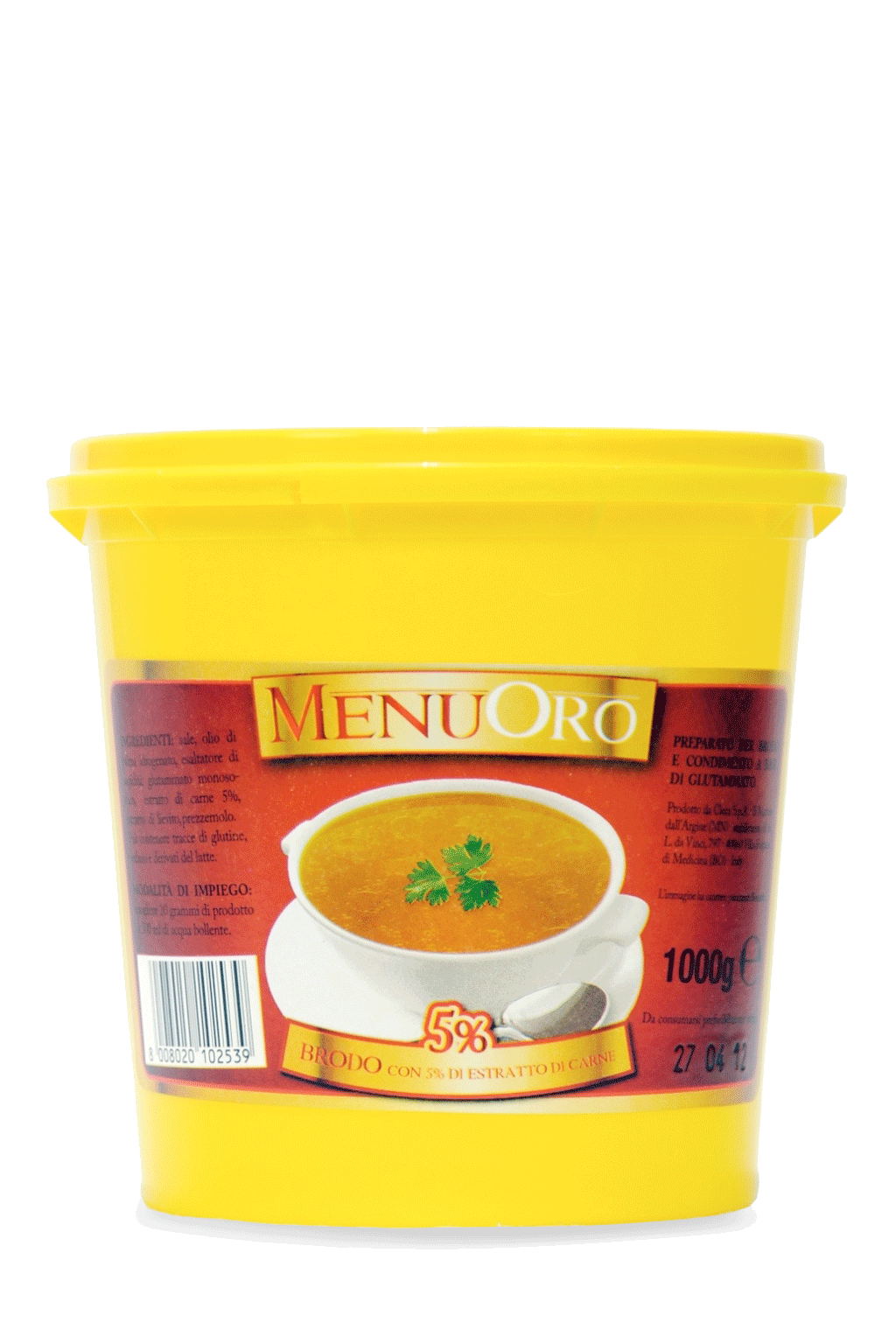 Meat Extract 5% paste broth 1 Kg