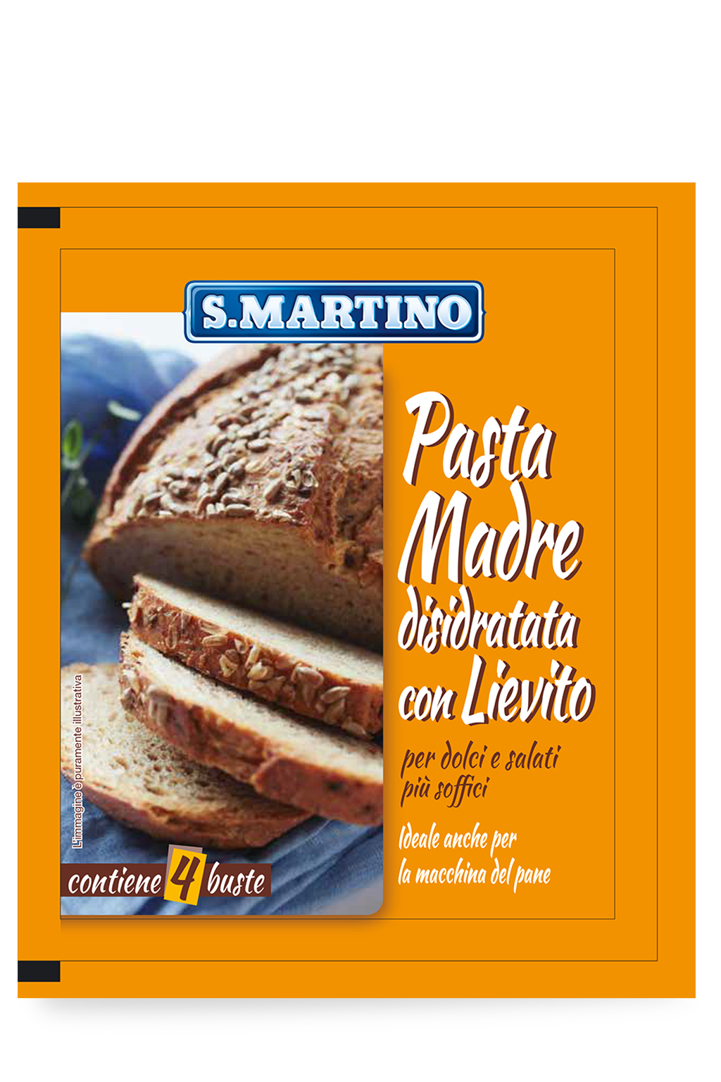 Pasta Madre 4 buste 50g