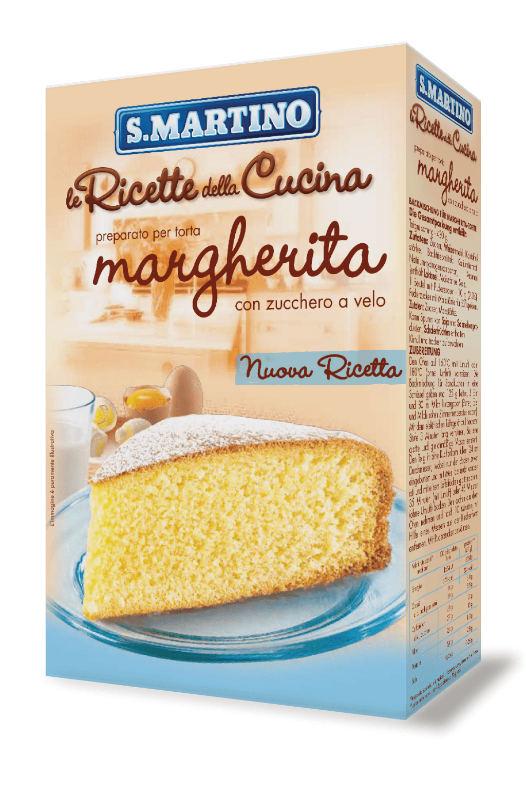 Margherita cake mix 440g