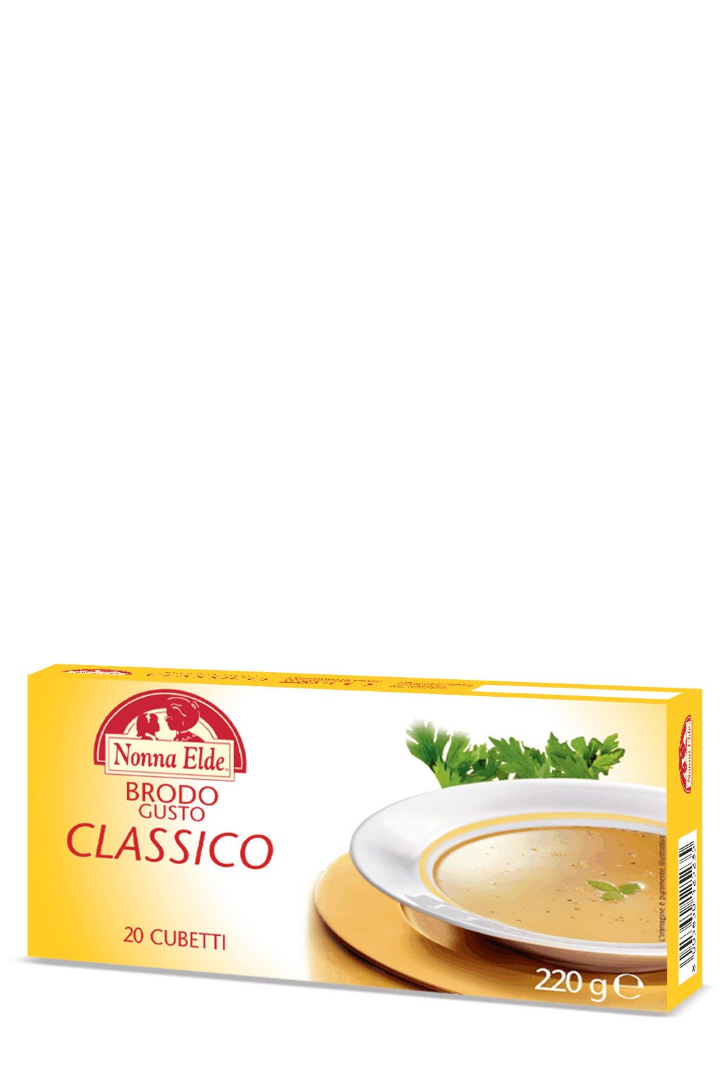 Classic broth 20 cubes 220g