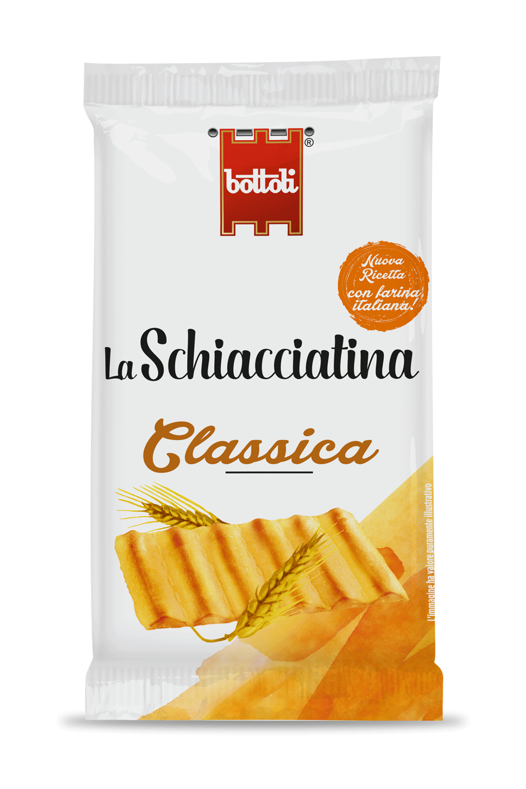 Schiacciatina Classic single-serve pack