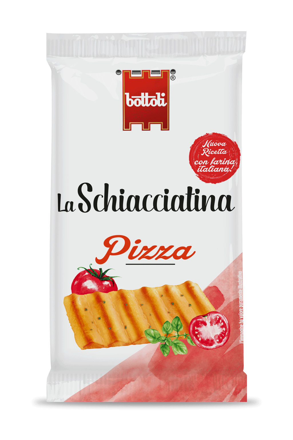 Schiacciatina Pizza single-serve pack