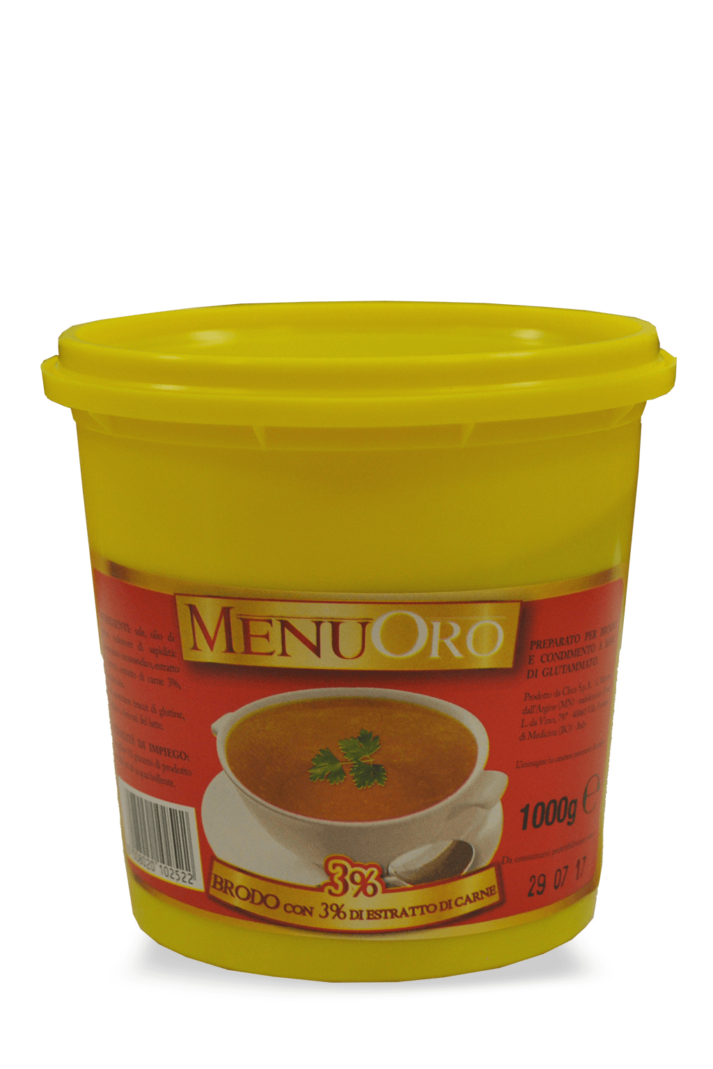 Meat Extract 3% paste broth 1 Kg