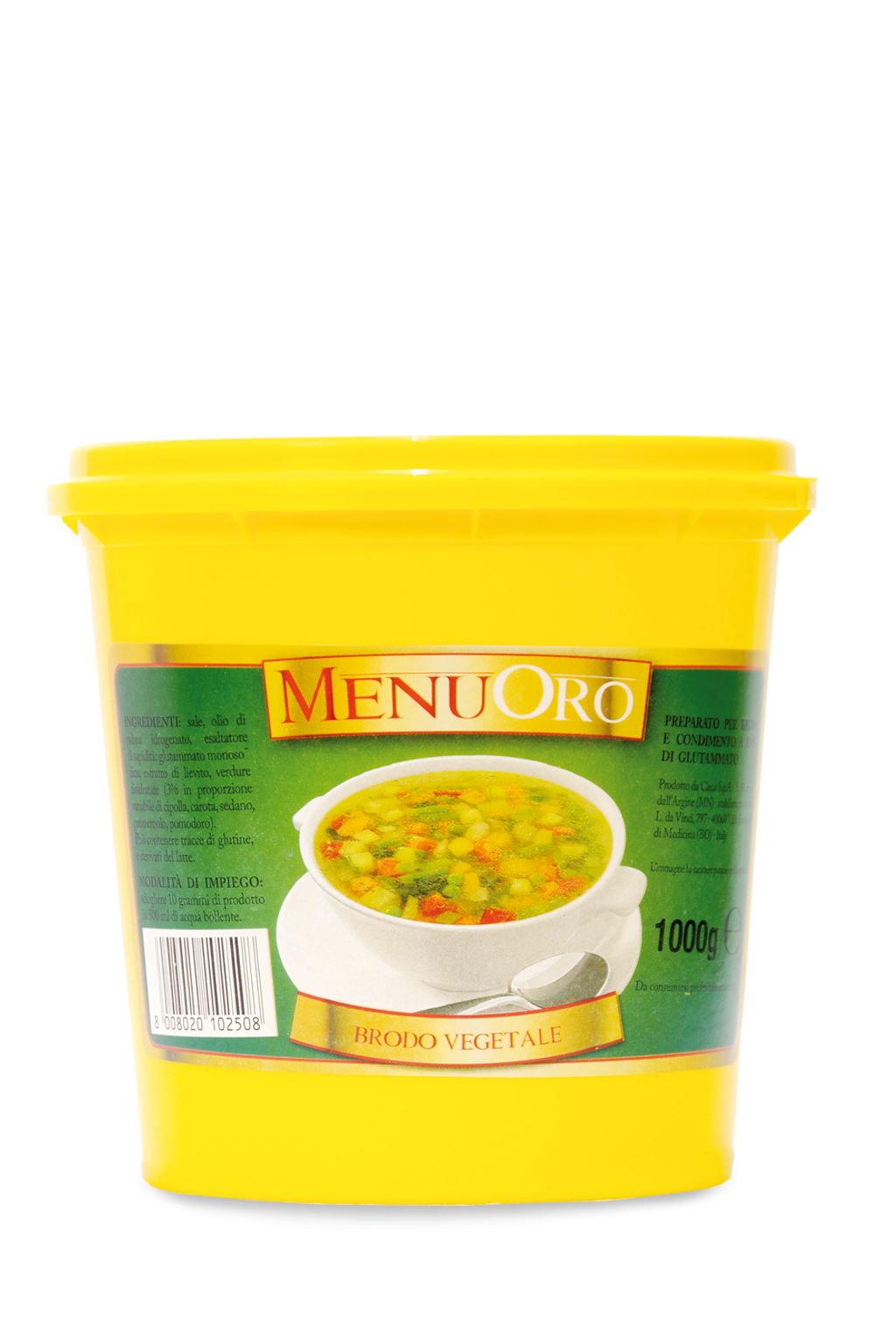 Vegetable paste broth 1 Kg